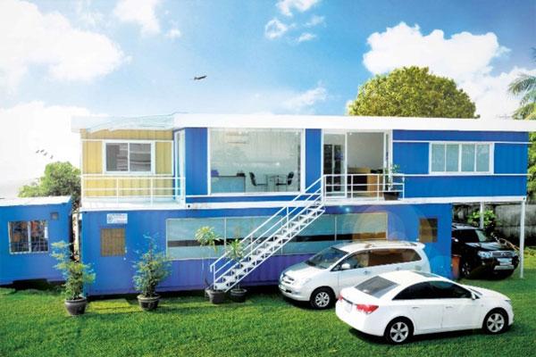 Thiết kế container văn phòng có thể tạo nên nhiều phong cách như ý