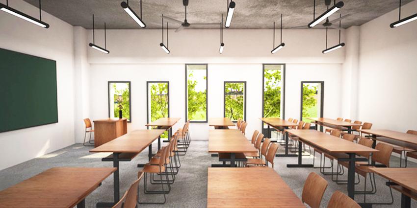 Thiết kế nội thất trường học đạt tiêu chuẩn chất lượng