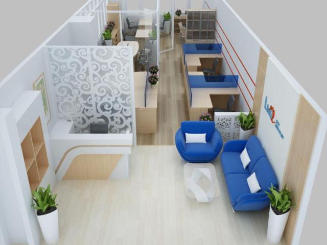 Nội thất Dương Gia là đơn vị thiết kế văn phòng mini uy tín