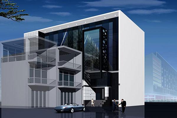 Mẫu nhà phố kết hợp văn phòng cho thuê có giá bán hấp dẫn