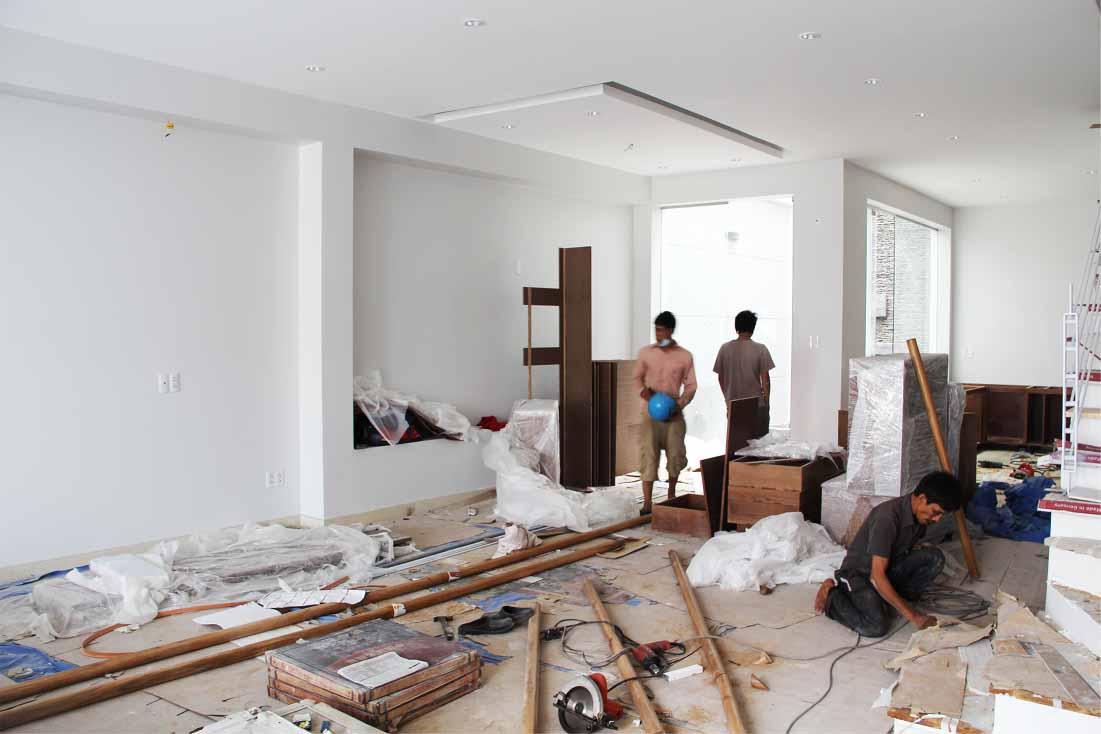 Thi công nội thất trọn gói giúp tiết kiệm thời gian