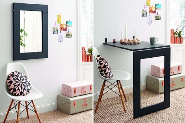 Bố trí nội thất trong không gian nhỏ nên sử dụng nội thất đa năng