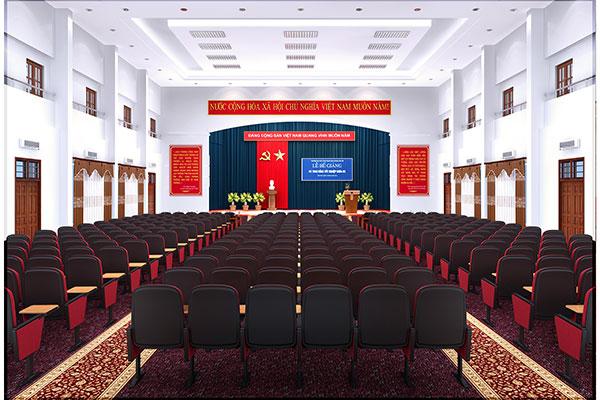 Lựa chọn ghế hội trường cần chọn màu sắc phù hợp với phong cách thiết kế