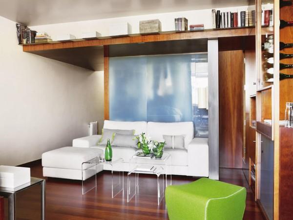 Bố trí nội thất trong không gian nhỏ cần định hình khu vực chính của không gian