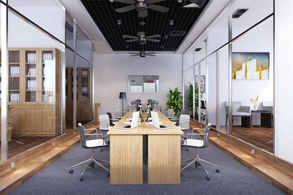 Mẫu thiết kế văn phòng làm việc hiện đại số 1