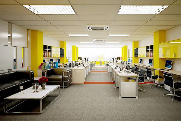 Thiết kế theo mục đích sử dụng là một trong những kinh nghiệm khi thiết kế văn phòng