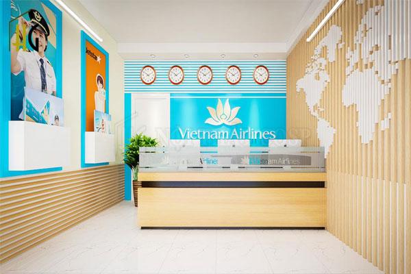 Thiết kế văn phòng du lịch độc đáo, tạo dựng hình ảnh cho doanh nghiệp