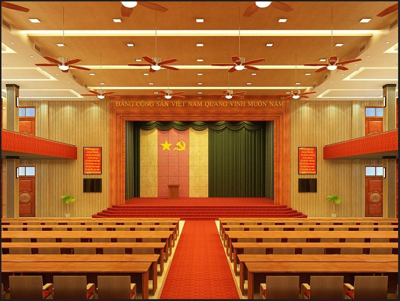 Nội thất Dương Gia là đơn vị thiết kế hội trường đa năng uy tín tại Hà Nội