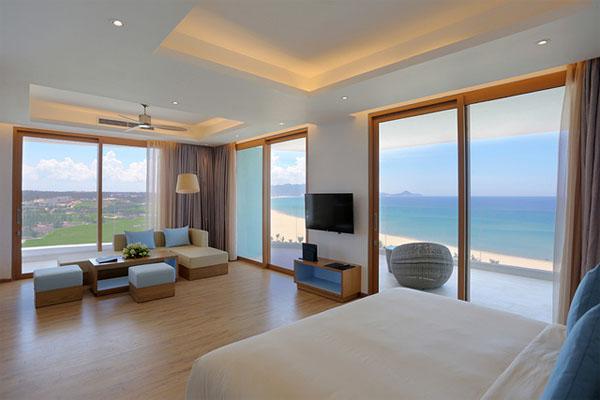Mẫu thiết kế nội thất khách sạn theo không gian mở