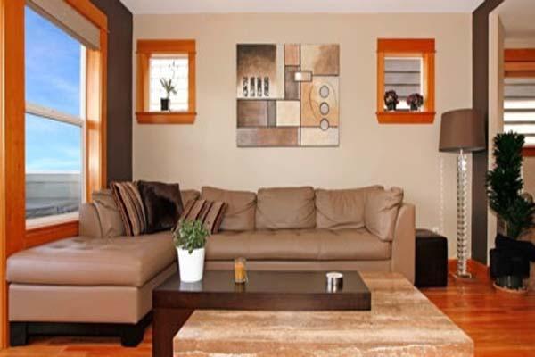 Bố trí nội thất trong không gian nhỏ chú ý nội thất tạo sự cân bằng