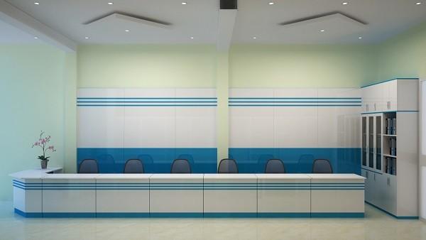 Thiết kế văn phòng giao dịch cần chú ý hệ thống ánh sáng hài hòa