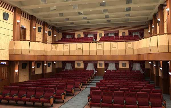 Xưởng đóng bàn ghế hội trường tại Dương Gia -Phong cách làm việc chuyên nghiệp