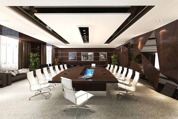 Mẫu thiết kế văn phòng làm việc hiện đại số 5