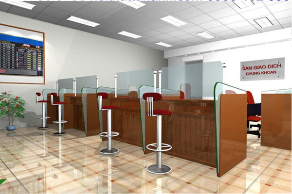 Thiết kế văn phòng giao dịch với nội thất phù hợp