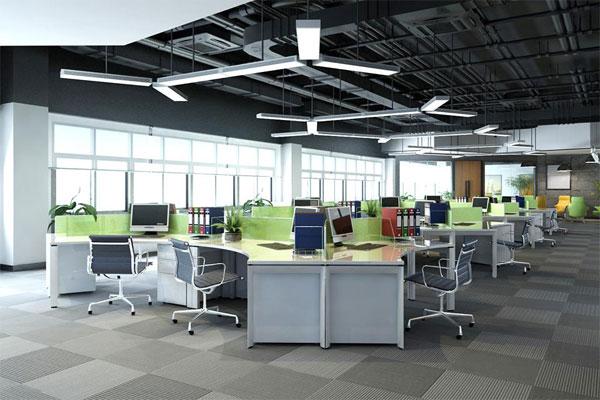 Mẫu thiết kế văn phòng làm việc hiện đại số 7