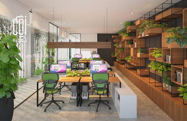 Mẫu thiết kế văn phòng hiện đại siêu ấn tượng