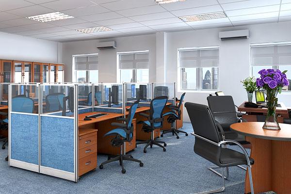 Ánh sáng là yếu tố đặc biệt quan trọng đối với thiết kế thi công văn phòng