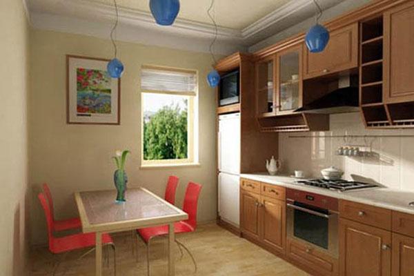 Bàn ghế phòng ăn kê đối trực tiếp với bếp nấu ảnh hưởng xấu đến sức khỏe và tâm trạng.