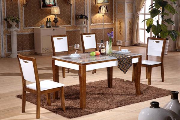 Nội thất Dương Gia cung cấp bàn ghế nội thất phòng ăn.