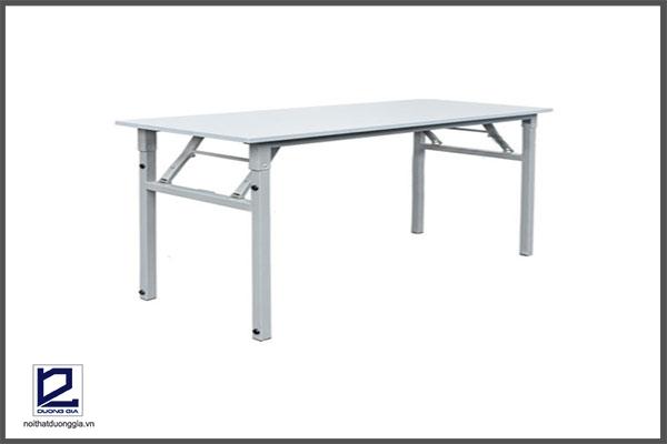 Mẫu bàn làm việc chân gấp số 2