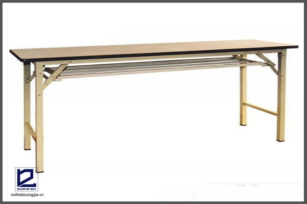 Mẫu bàn làm việc chân gấp số 1