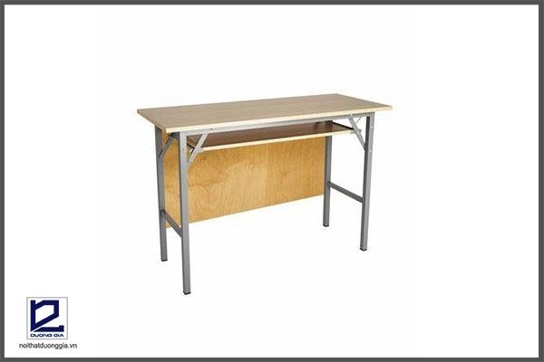 Mẫu bàn làm việc chân gấp số 3
