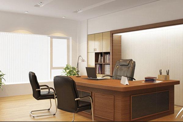 Thiết kế nội thất phòng Giám đốc theo phong thủy - cách lựa chọn bàn Giám đốc