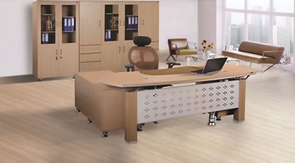 Bàn làm việc văn phòng giá rẻ, đẹp HRP1890L2Y1