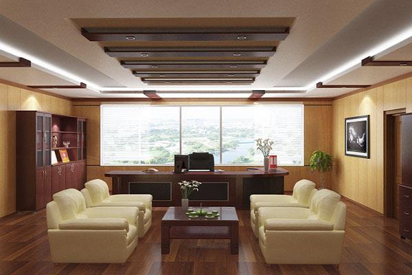 Thiết kế nội thất phòng Giám đốc theo phong thủy - cách lựa chọn bàn ghế tiếp khách