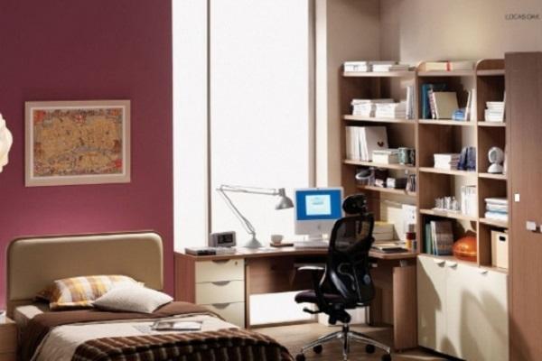 Bàn làm việc ở phòng ngủ gây ảnh hưởng đến sinh hoạt chung