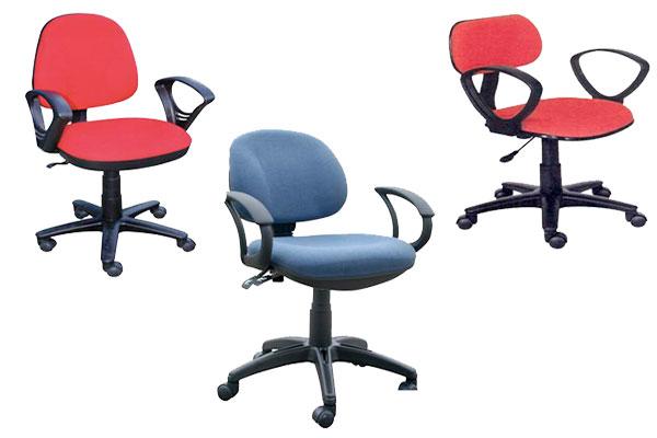 Ghế làm việc cho nhân viên tại Nội thất Dương Gia có đa dạng kiểu dáng, chất liệu, màu sắc.