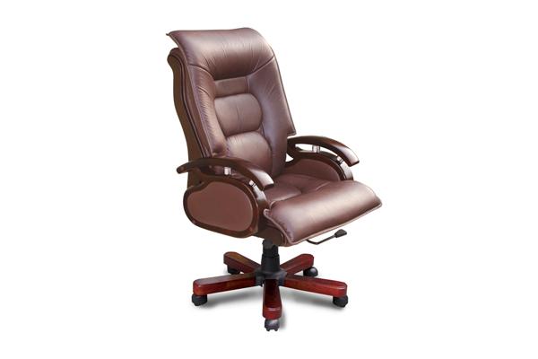 Ghế gỗ văn phòng kết hợp với các chất liệu khác mẫu 3