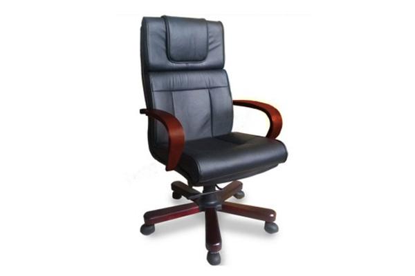 Ghế gỗ văn phòng kết hợp với các chất liệu khác mẫu 2