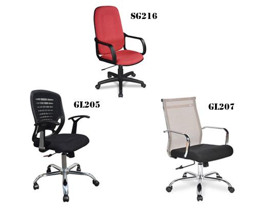 Mẫu ghế làm việc Hòa Phát đa dạng chủng loại