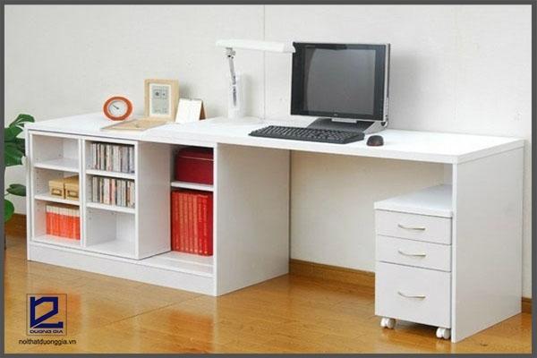 Kích thước bàn làm việc phải mang đến sự thoải mái, tiện nghi cho người dùng