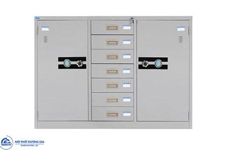 Tủ sắt văn phòng TU118-7D bền, bảo mật tốt