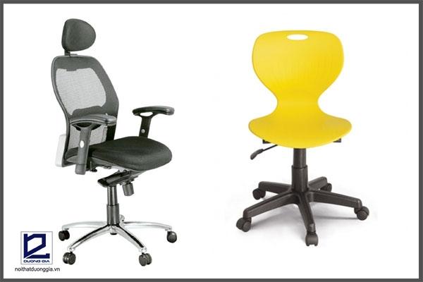 Mua ghế làm việc văn phòng giá rẻ Hà Nội cần chú ý kiểu dáng thiết kế