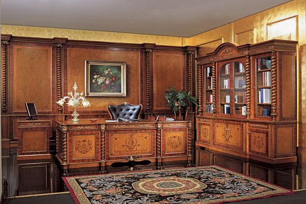 Thiết kế nội thất cổ điển ấn tượng cho không gian văn phòng mẫu 1.