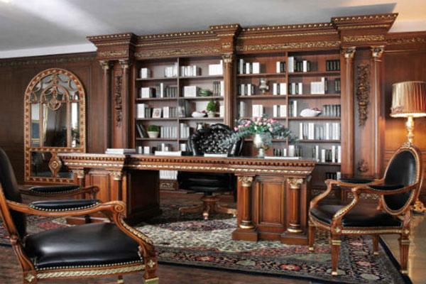Thiết kế nội thất cổ điển ấn tượng cho không gian văn phòng mẫu 3
