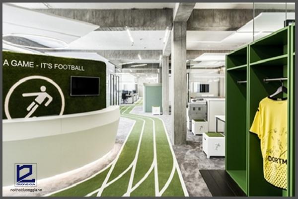 Trụ sở mới của Onefootball tại Berlin