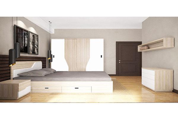 Bộ giường tủ phòng ngủ cho người lớn