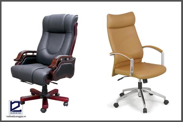 Ghế làm da văn phòng đem đến nét đẹp sang trọng, đẳng cấp