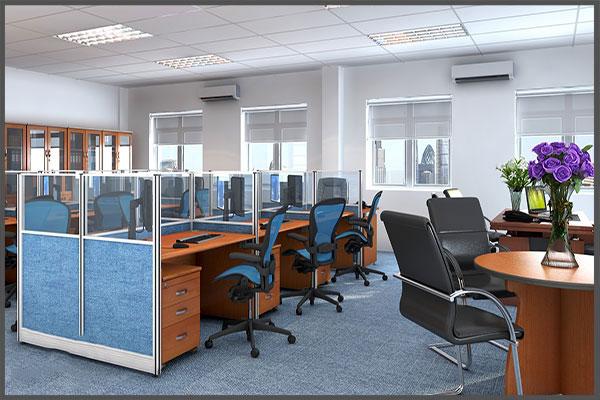Thiết kế vách ngăn văn phòng đẹp, giá rẻ tại Hà Nội