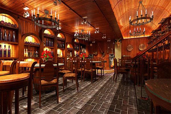 Thiết kế nội thất cho nhà hàng phong cách cổ điển