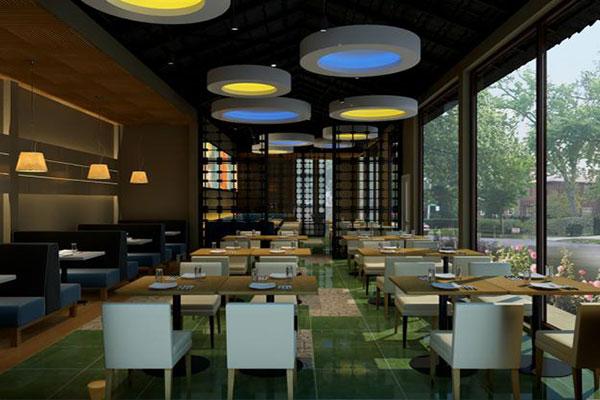 Thiết kế nội thất cho nhà hàng phong cách hiện đại