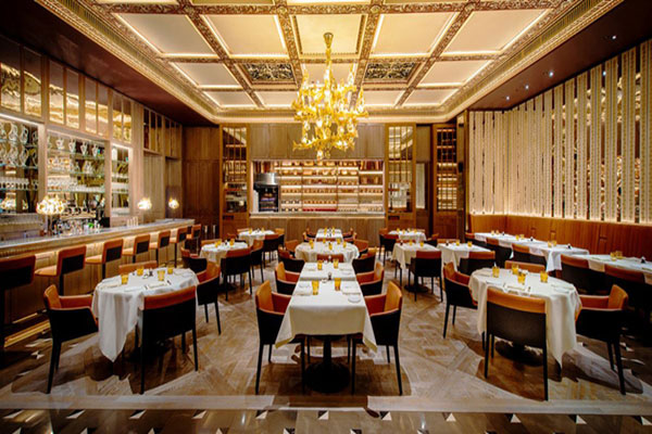 Thiết kế nội thất cho nhà hàng phong cách Châu Âu