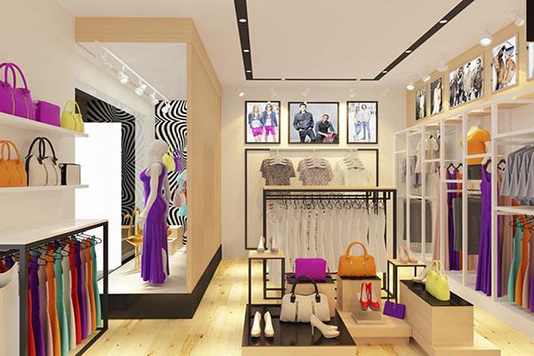 Thiết kế nội thất công ty thời trang cần bài trí nội thất hợp lý