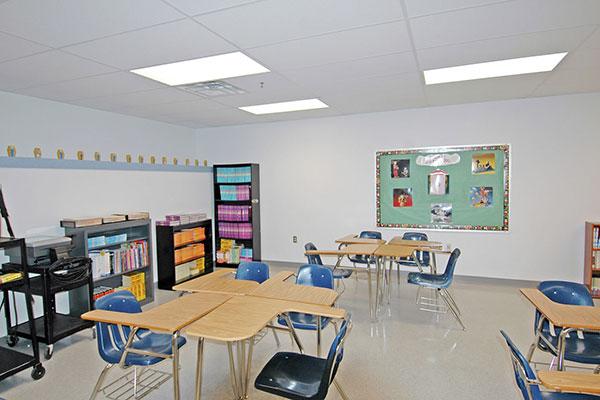 Thiết kế nội thất trường học cần chú ý những gì?