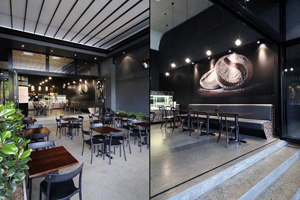Thiết kế quán cafe văn phòng mẫu 01