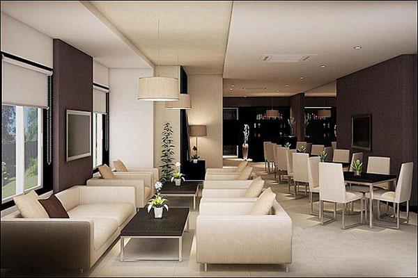 Thiết kế quán cafe văn phòng mẫu 02